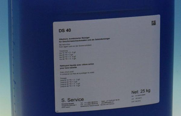 DS40 / Geschirrwaschmittel mit Chlor